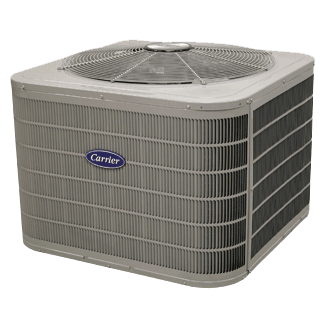 Carrier Performance 17 central air conditioner.