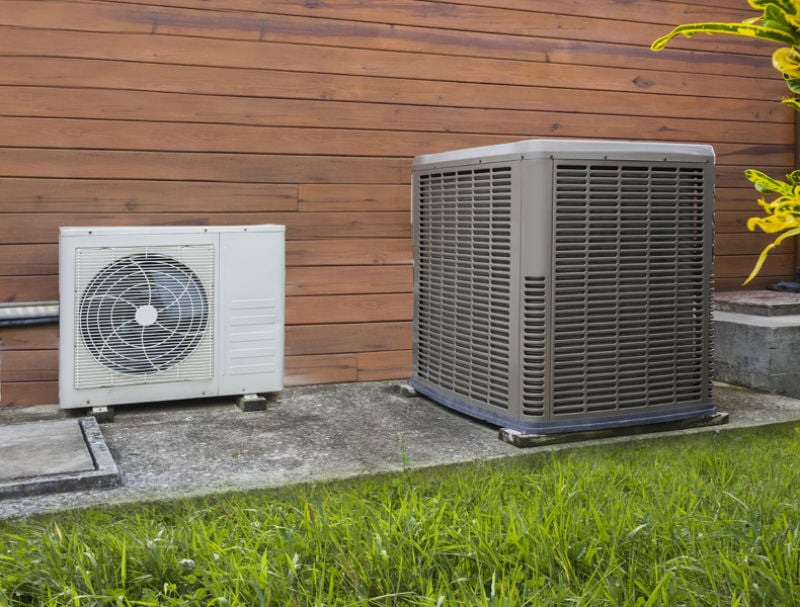 Air conditioning heat pumps