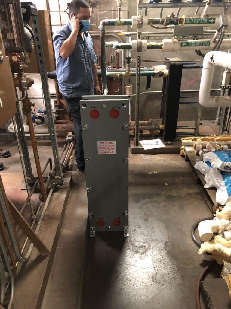 Water to Water Heat Exchangers