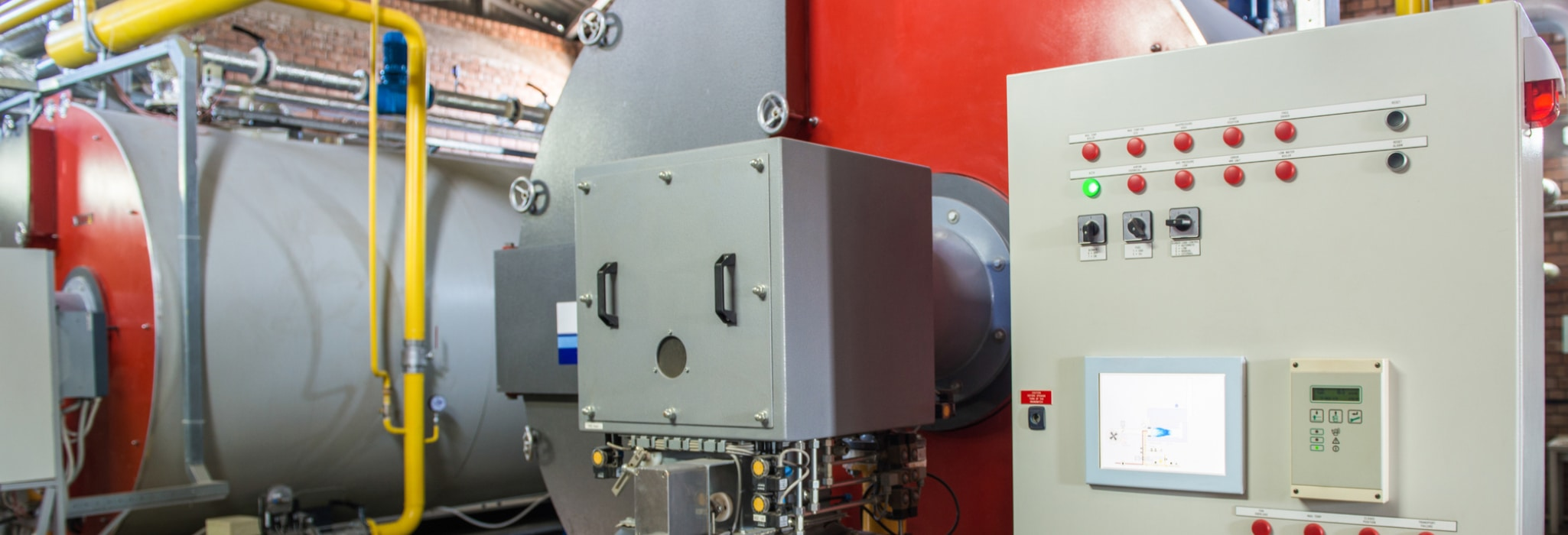 Boiler service.