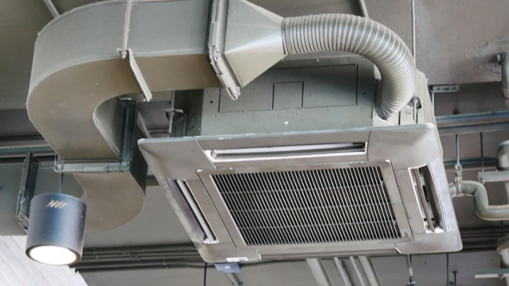 Commercial cooling service.